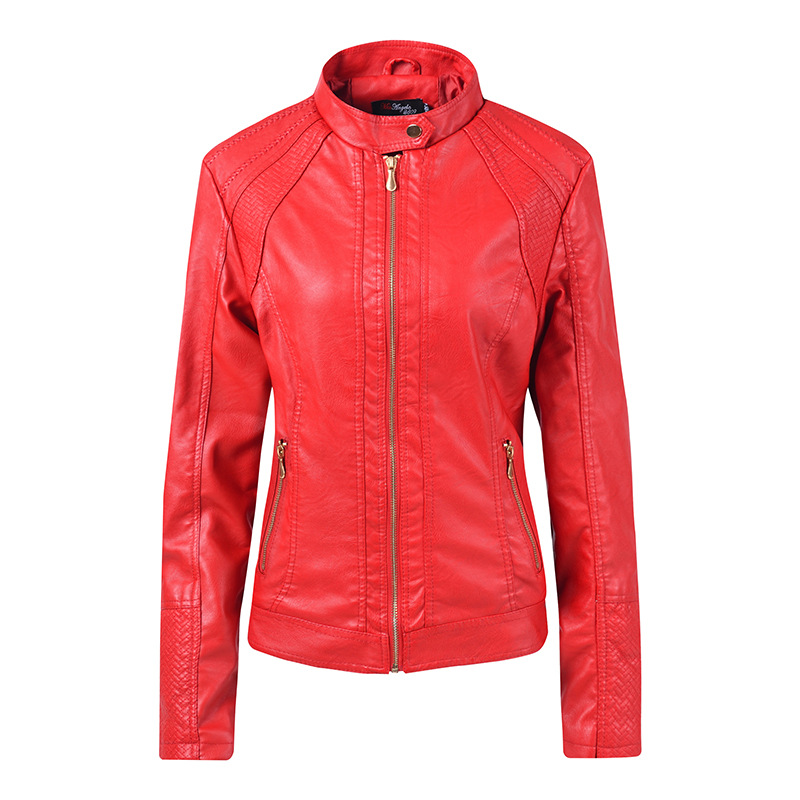 HEE GRAND 2019 Autumn Bomber PU Jacket Ladies Coat Slim Faux   Leather   Motorcycle Jackets Women Jaqueta De Couro Feminina WWP216