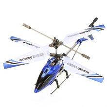Abwe лучшие продажи SYMA S107G Мини 3.5 канала инфракрасного Радиоуправляемый вертолет с гироскопом (синий)