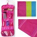 Saco organizador Moda Multifunções portátil dobrável pendurado saco de viagem cosméticos senhoras sacos de viagem, Saco De Higiene Viagem