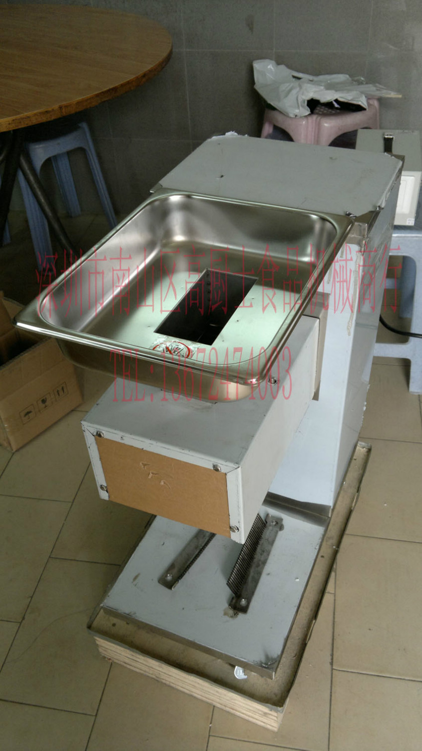 Come with 3 blades QE Meat Slicer Meat cutting macine One Year Warranty fast shipping