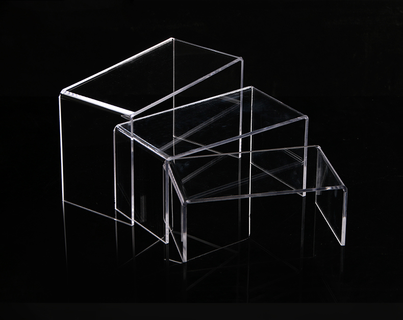 Clear U Shaped Acrylic Display Risers Set Of 3 Showcasing Jewelry Figurines Collection Stand Holder mccarthy m o dell f english vocabulary in use advanced vocabulary reference and practice with answers cd