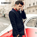 Simwood Новое Прибытие 2016 Весной мужской Пиджак Мода Slim Fit Бразер Случайные Блейзеры Мужские Высокое Качество Бесплатная Доставка