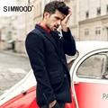 Simwood 2016 Nueva Llegada del Resorte de Los Hombres de Moda Chaqueta de Traje Slim Fit Brazer Casual Blazers Hombres de Alta Calidad Libre Del Envío