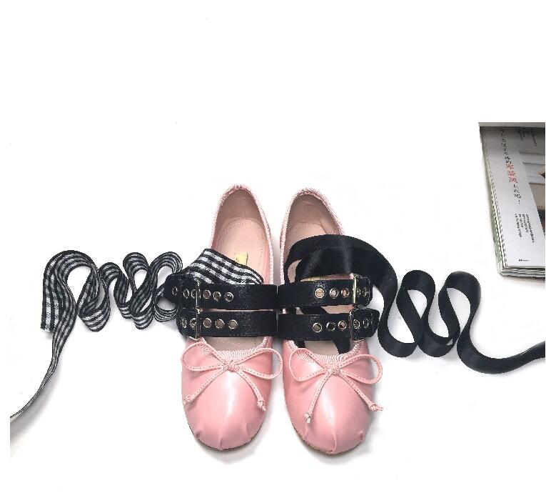 0c1ca9d19f Kopen Goedkoop Ballerina Kawaii Glitter Lace Up Designer Leuke ...