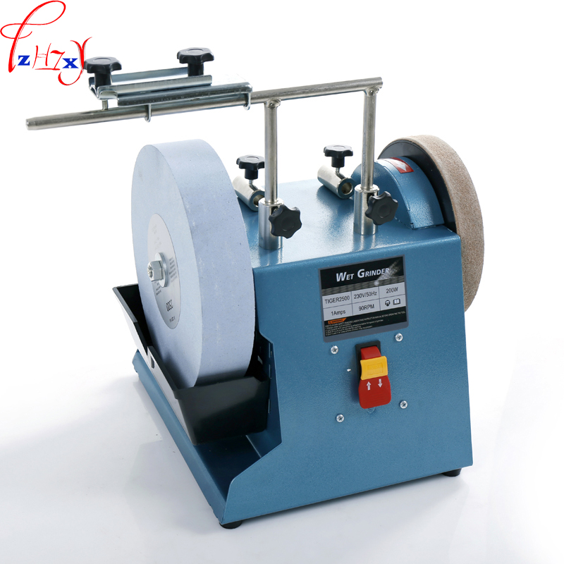 1PC 10-inch electric water-cooled grinder machine 220 mesh grindstone grinding machine grinding knife scissors 220-230V