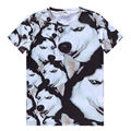 ISTider Brand New Summer Style tshirt Casual Clothing Short Sleeve Camiseta 3D T Shirt Animal Husky Akita Dog Printed T-Shirts