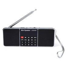 L-288 AMBT Bluetooth 2.1 de Altavoces Inalámbricos de Radio AM FM Función de Radio Con Pantalla LED Soporte de Micrófono