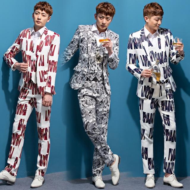2016 nuevo traje de los hombres de Inglaterra character studio set de Dos piezas