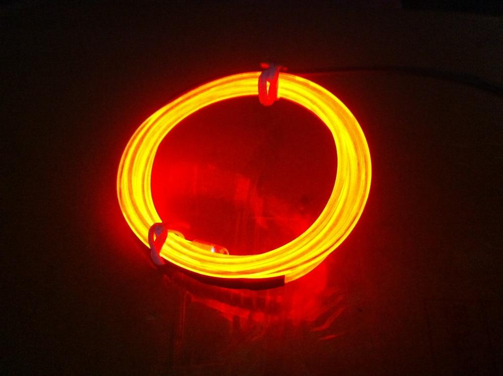 1 Mt Flexible Neonlicht DIY El drahtseil schlauch Kabel seil Auto ...