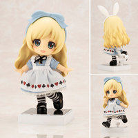 Alice in Wonderland Mad Hatter Anime Figures White Queen 10CM Q version Movable Nendoroid Pvc Action Figure Model Dolls Toys
