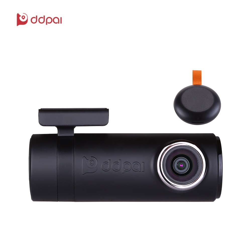 DDPai mini2P с без искажений объектив Wi-Fi регистраторы 1440 P 2 К автомобиля Камера со встроенным супер конденсатор