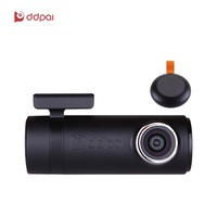 DDPai mini2P With Distortionless Lens Wi Fi Dash Cam 1440P 2K Car Camera With Built in Super capacitor