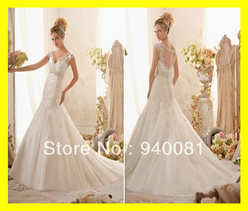 Non White Wedding Dresses Casual With Sleeves Petite Brides Cute Mermaid Floor Length Court Train Appliques V Nec 2015 Wholesale Dress Dying Wedding Dresses Hotwedding Dress Real Aliexpress,Light Blue Dress For Wedding Guest