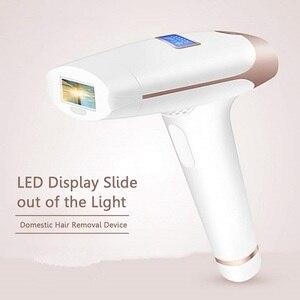 Image 3 - LCD 디스플레이 IPL 레이저 영구 제모 기계 장치 홈 전기 Painless 레이저 제 모기 여성 남성 바디 얼굴 Bikin