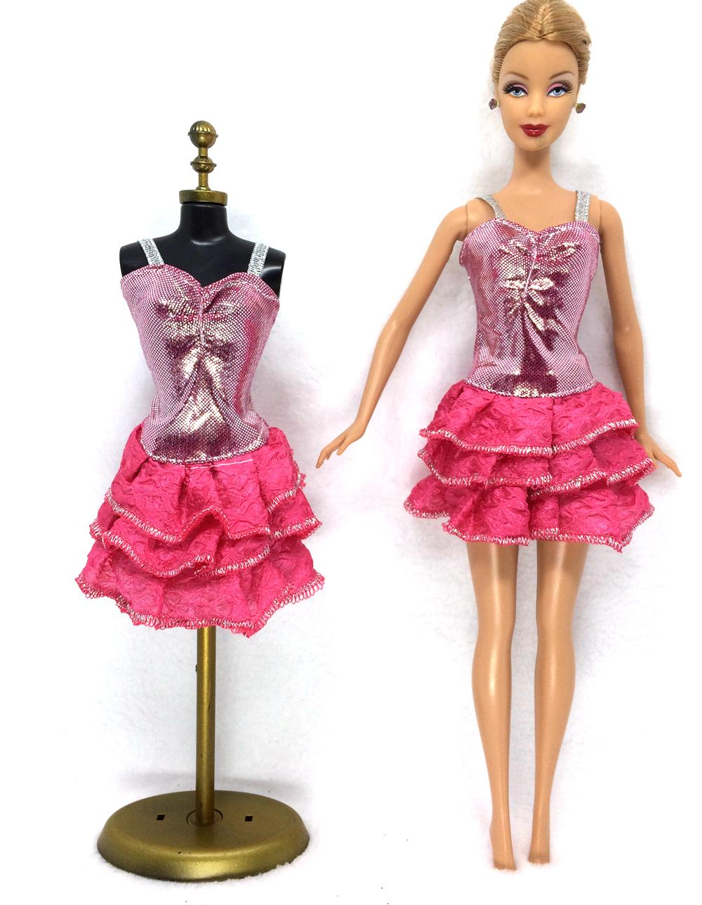 NK 2016 Latest Doll Costume Stunning Handmade Social gathering ClothesTop Style Costume For Barbie Noble Doll Greatest Little one Women'Reward 006A