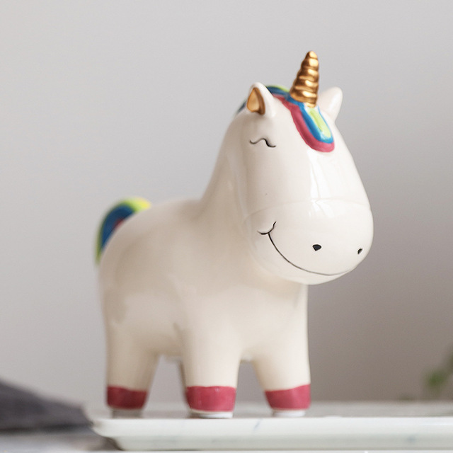 Tirelire Licorne Face