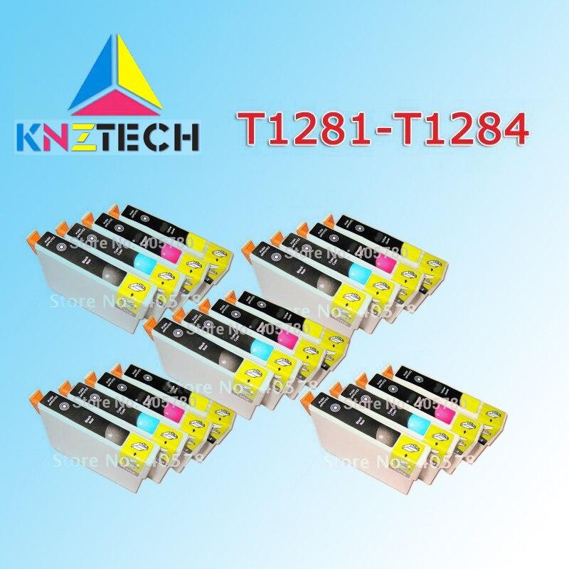 20 шт T1281/T1282/T1283/T1284 чернильный картридж для Stylus S22/SX125/420 W/425 W/EPSON OFFICE BX305F