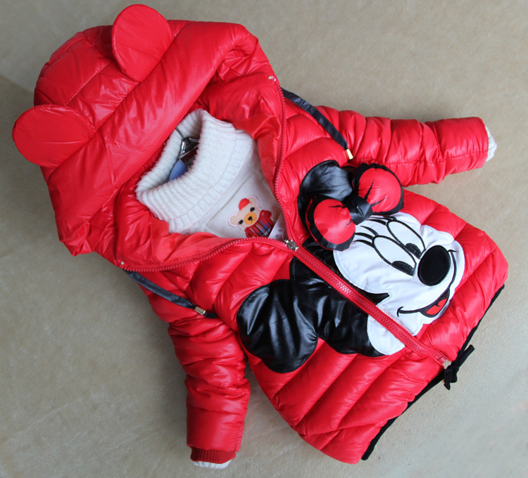 Minnie maus winterjacke