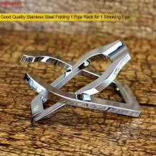 Royal Crown High Quality Stainless Steel Folding Smoking Pip