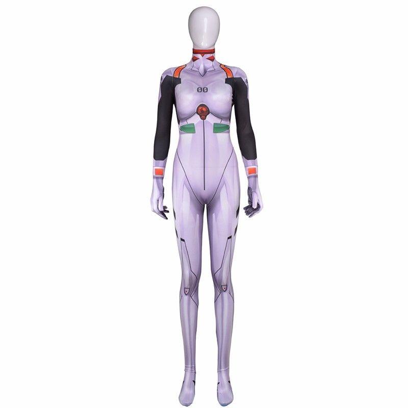 EVA ANIME Bodysuit Neon Genesis Rei Cosplay Zentai Evangelion Ayanami  Jumpsuits