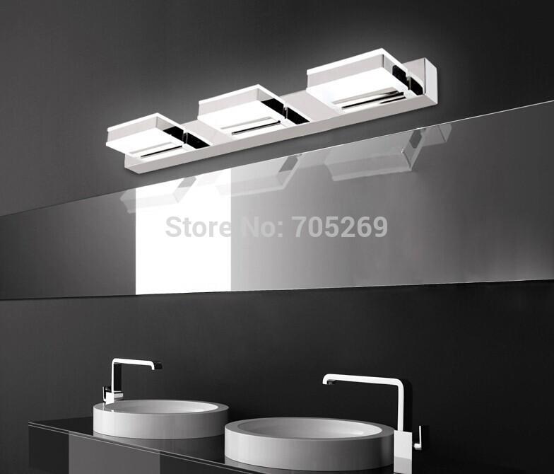 High end modern minimalist led mirror lights bathroom lamp mirror cabinet lights bathroom wall for High end bathroom light fixtures
