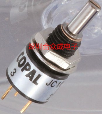 [VK] COPAL JC10-000-202N JC10-2K conductive plastic potentiometer switch [vk] original copal j40s high new life conductive plastic potentiometer 1k 2k 5k 10k 20k switch