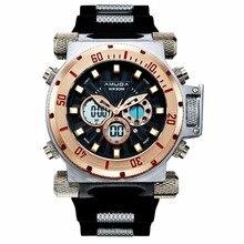 Fashion Amuda Men Quartz Wristwatches Sport Watch Auto Date 30M Waterproof Clocks Relogio Masculino Male Military Watches
