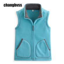 Fleece Child Vest Autumn&Winter Children Waistcoats colete feminino Boy Girl Vest Kids Sleeveless Jacket Warm Baby Infant Vest