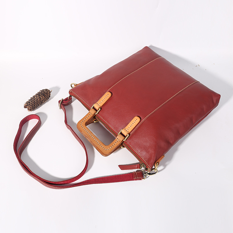 Genuine Leather Women Handbags Tote Bolsa Feminina Desginer Casual Shoulder Crossbody Bags Cowhide Messenger Bag sac a main ljl bullcaptain genuine leather men wallet rfid blocking vintage bifold wallets credit cards holder