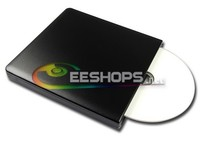 Slot-in Zewnętrzny USB 3.0 6X 3D Blu-ray Burner Dual Layer BD-RE DL Writer Napęd Optyczny 4X BDXL Bluray Czarnego Aluminium Nowy Przypadek