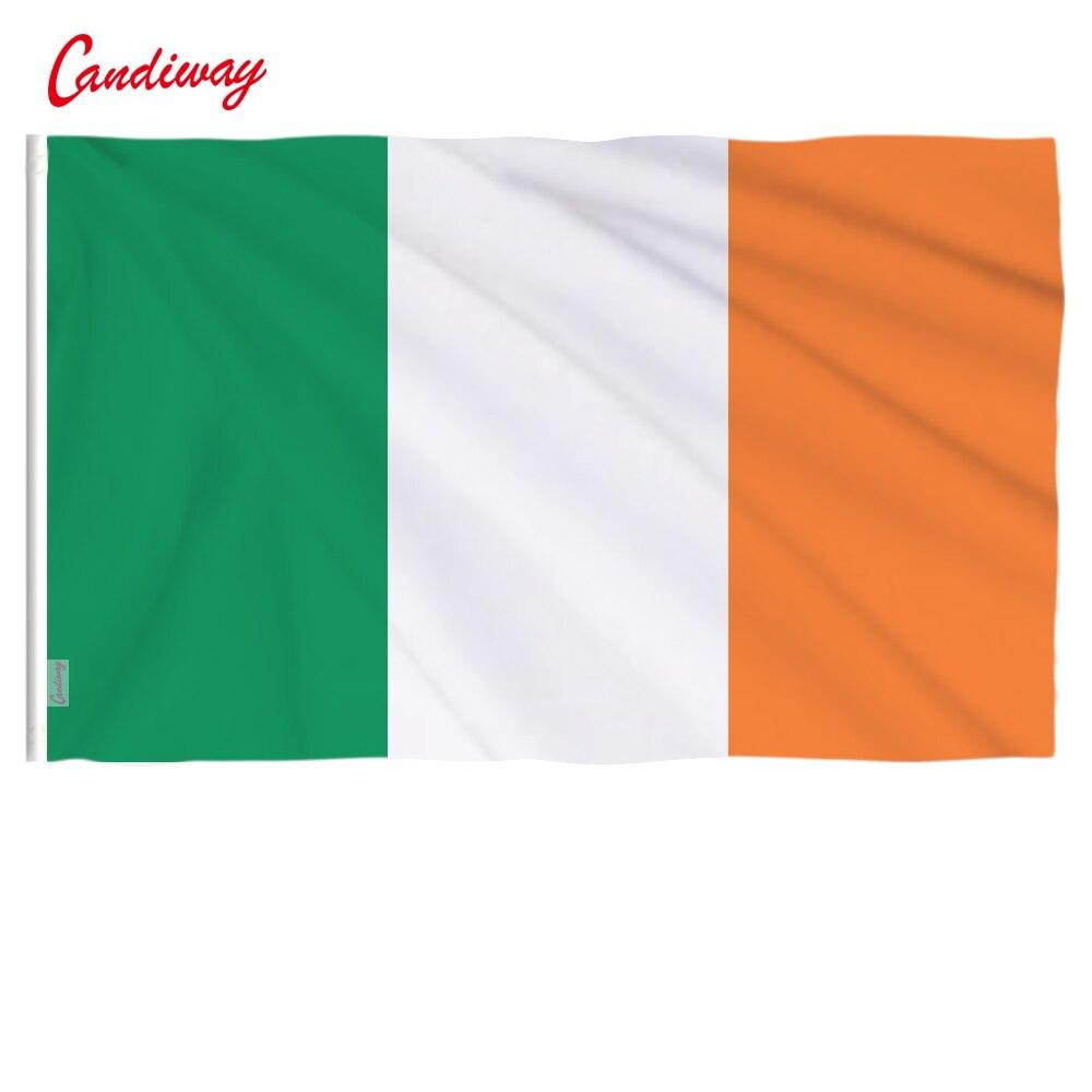 90 x 60cm Hibernian Ireland the Irish flag flag banner celebration a sign of high quality indoor and outdoor decoration NN015