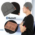 Soft Warm Beanie Winter Hat Wireless Bluetooth Smart Cap Headset Headphone Speaker Mic Bluetooth Hat