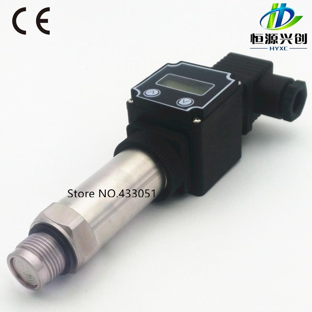 Flat film type pressure transmitter/sensor, Digital display function,pressure sensor,Output:4-20mA/0-5V/0-10V,Range: -0.1-100Mpa [sa] digital output pressure sensor ms5534c genuine original 5pcs lot
