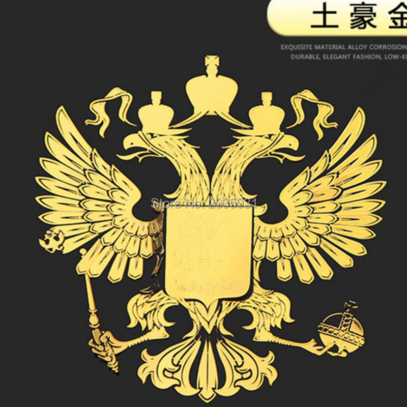 2018 Latest Car styling Russia badge sticker decal for ford kia sportage 3 mitsubishi lancer 10 renault logan bmw x5 e53 cruze