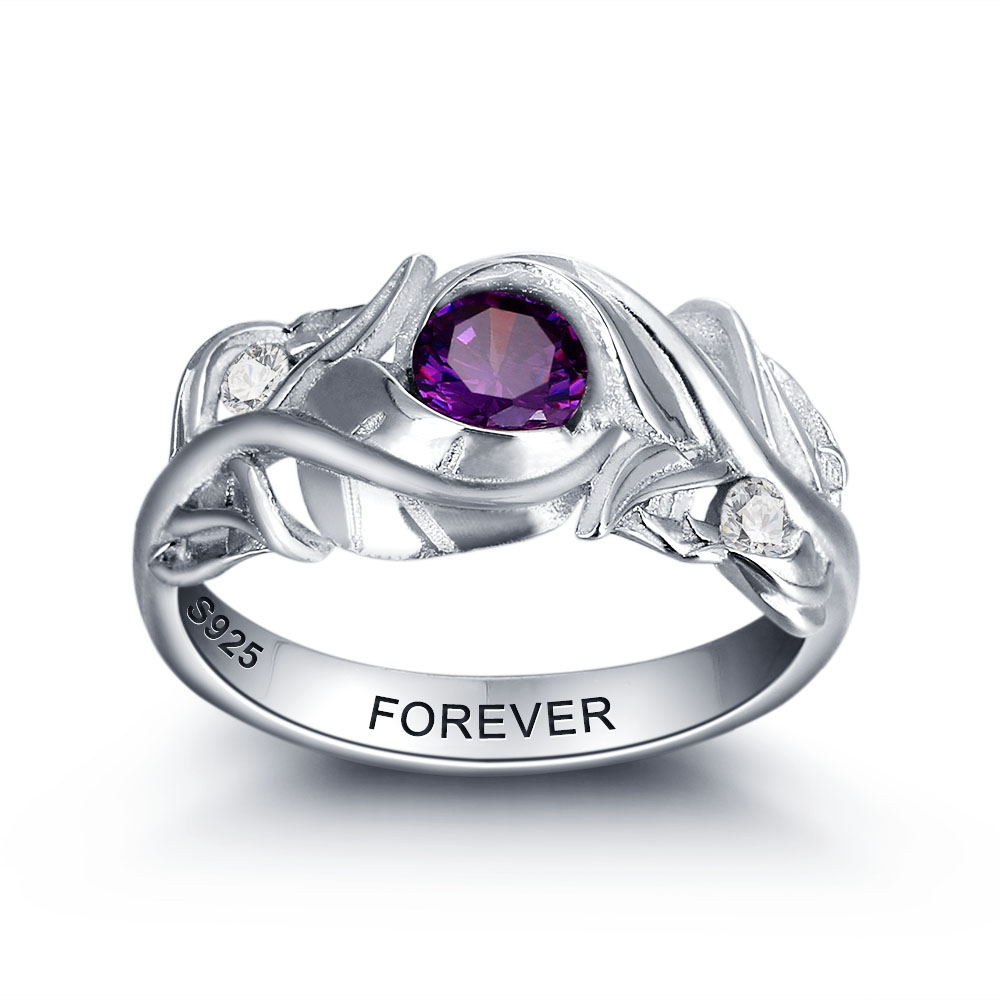 Popular Couples Birthstone Rings-Buy Cheap Couples Birthstone ...