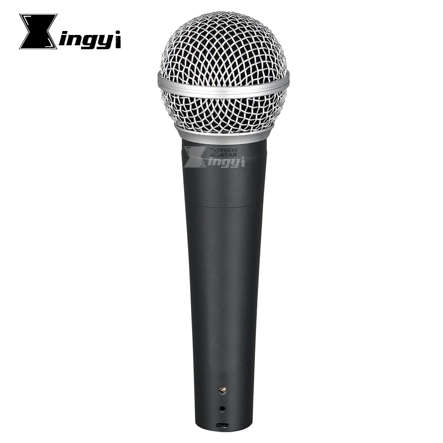 Dynamic Microphone Dj-Mixer Moving-Coil Cardioid Karaoke Professional SM58S Handheld title=