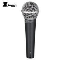 SM58S SM58LC кардиоидный динамический микрофон профессиональный ручной движущийся микрофон для SM 58LC 58SK 58 DJ Караоке микшер Поющая консоль