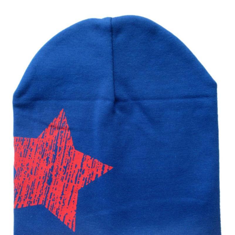 TELOTUNY Fashion 2018 Print Star Baby Beanie For Boys Girls Cotton Knit Hat Children Winter Hats For Baby HatsFEB16