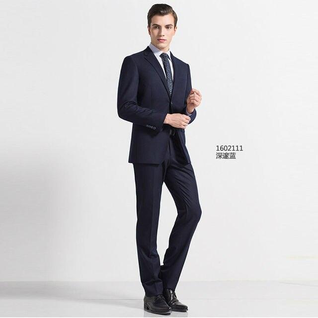 2017 fall winter high quality black blue grey dark grey man\'s ...