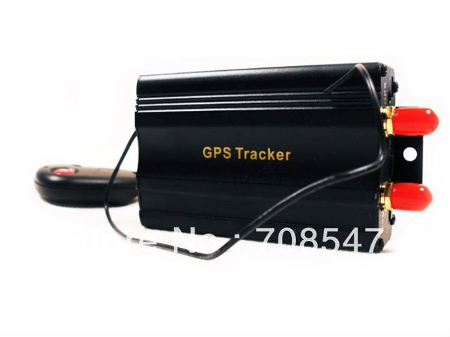 DHL 5pcs/ TK103B mini  high quality gps car  tracker Supports the remote control car gps tracking Wholesale