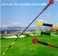 New Three Color Golf Training Golf Swing Bat from 2018 Latest model in Powerful golf swing trainer With Free Golf Tee