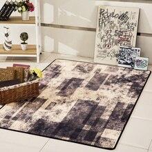 European carpet Living room sofa coffee table floor mat Study bedroom bedside customizable velvet printing non-slip rug