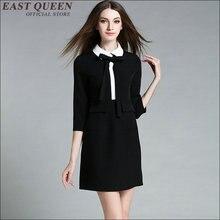 Фото черное платье с белым бантом