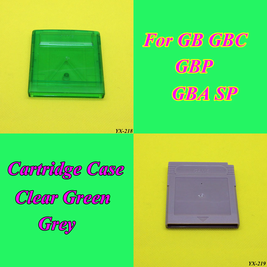 1piece E House For Nintendo Gameboy Series Game Cartridge Housing Shell Replacing Cover Case For GB GBC For GBA SP