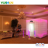 Custom Made inflatable photobooth tent vending machine portable inflatable photo booth sales