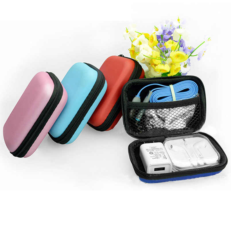 2018 Sundries Travel Storage Bag Charging Case For Earphone Package Zipper Bag Portable Travel Cable Organizer Electronics