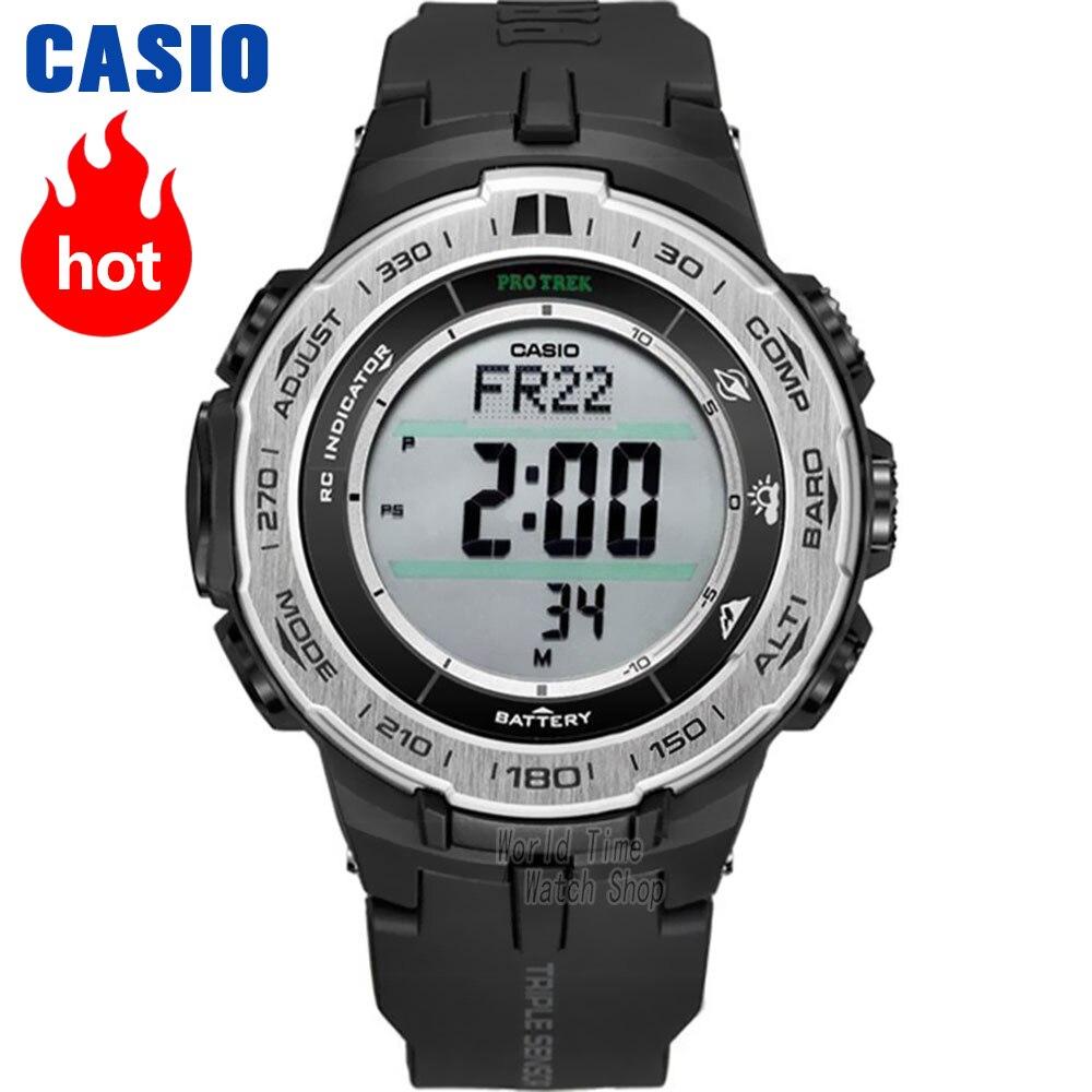 Casio watch Protrek Men's quartz sports watch