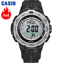 Casio watch Mountaineering series of solar energy mountain climbing male watch PRW-3100-1 PRW-3100G-3P PRW-3100Y-1B prw 3000t 7er