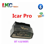 50pieces/lot New Arrival Vgate iCar pro BT 4.0/WIFI OBD2 Car Diagnostic Scanner For Android/IOS Software V1.5 Diagnostic Tool