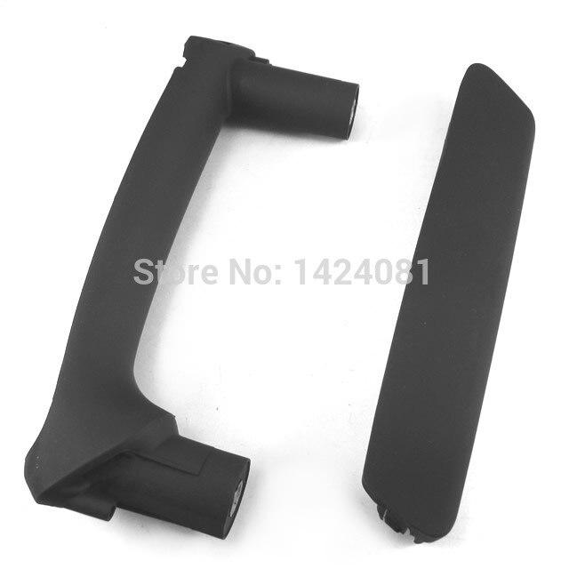 Черный цвет 3x левый и правый дверь тянуть ручки с отделкой обложка для VW Passat B5 3B0 867 172, 3B0 867 180 A, 3B4867372, 3B4867180B